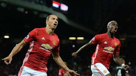 Zlatan Ibrahimovic and Paul Pogba