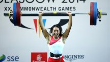 Zoe Smith produced a superhuman display to win gold in Glasgow