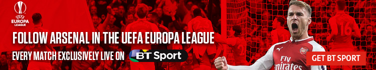 Follow Arsenal in Europe