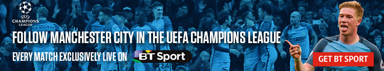 Follow Manchester City in Europe