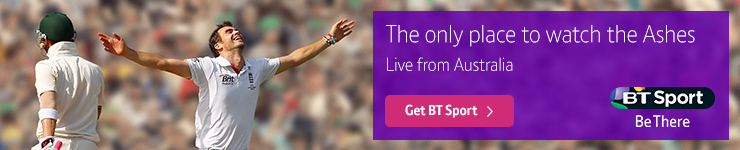 Watch the 2017-18 Ashes exclusively on BT Sport