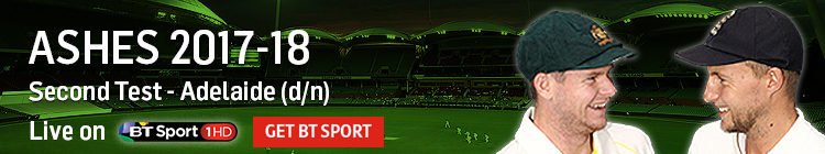 Join now to watch the 2017-18 Ashes exclusively live on BT Sport
