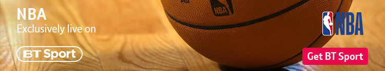 Join now to watch NBA exclusively live on BT Sport all season long