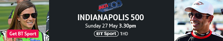 Join now to watch the Indy 500 exclusively live on BT Sport