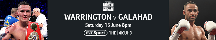 Join now to watch Warrington v Galahad live on BT Sport