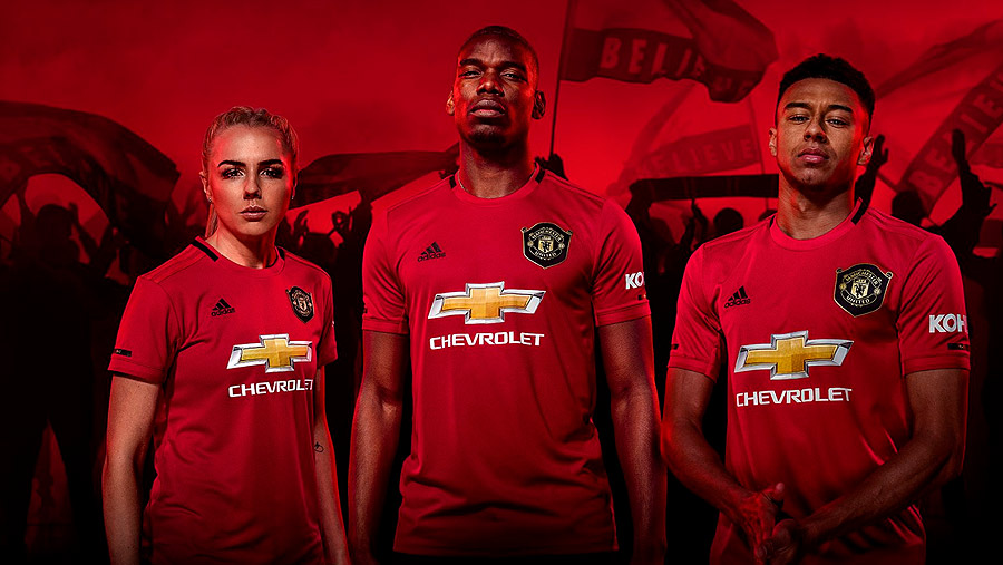 d4a660d8 Manchester United's new kit design pays homage to the famous 1998/1999  treble-winning season in which the club made history by becoming the first  team to ...
