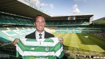 Former Liverpool boss Brendan Rodgers has been unveiled as the new Celtic manager