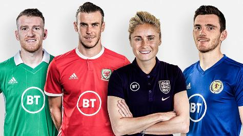 BT to become exclusive lead partner of home nations football