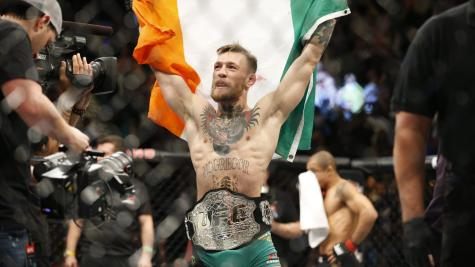 Conor McGregor vacates UFC featherweight title
