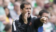 Dundee United manager Jackie McNamara has left his position