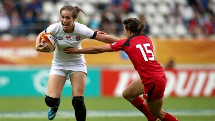 Emily Scarratt was influential to England's World Cup win