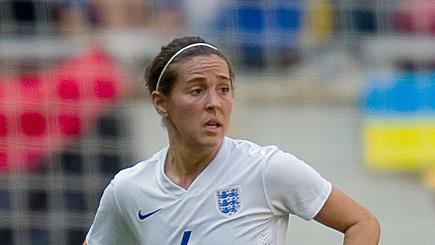 Fara Williams is nominated for the BT Sport Action Woman Award