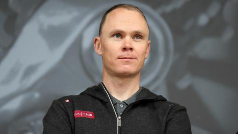 Froome upbeat after surgery to remove metalwork from hip and elbow