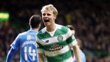 Gary Mackay-Steven struck as Celtic went six points clear in the Ladbrokes Premiership