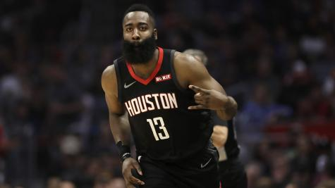 a1136a36e538 James Harden fires Rockets to victory over Clippers