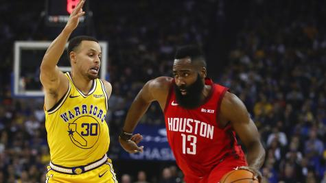 bae08187c691 James Harden heroics leads Houston Rockets to victory over Golden State  Warriors