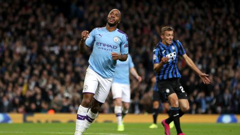 Manchester City boss hails 'extraordinary' Sterling after emphatic Atalanta win