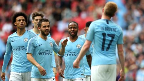 Manchester City hammer Watford to win FA Cup and complete domestic treble
