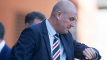 Mark Warburton insisted the Joey Barton row was not to blame for Rangers' goalless draw with Ross County