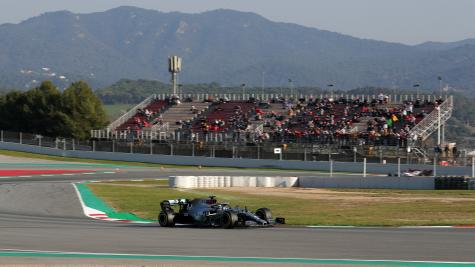 Mercedes clock up most laps during second F1 pre-season test in Barcelona