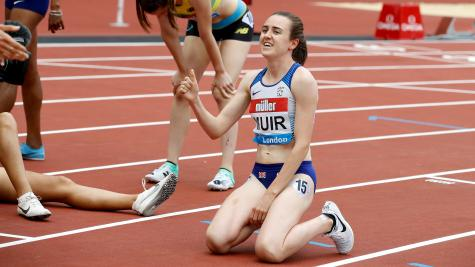 Muir cruises to 1500m victory at Anniversary Games