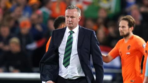 O'Neill: Odds are against Northern Ireland qualifying directly for Euro 2020