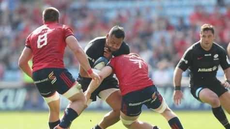 Organisers condemn 'regrettable incident' after fan appears to confront Vunipola