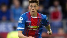 Ryan Christie had an eventful afternoon as Inverness beat Aberdeen