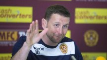 Ian Baraclough has thanked everyone at Motherwell for his spell at Fir Park