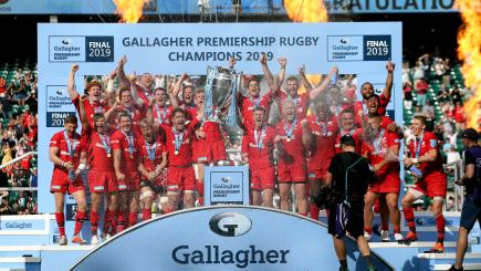 Saracens complete double after beating Exeter in thrilling Premiership final