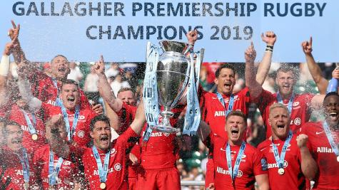 Saracens to begin Premiership title defence against Northampton