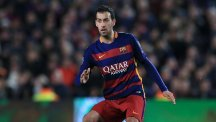 Sergio Busquets has made over 300 appearances for Barcelona