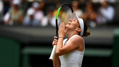 Simona Halep talks up her achievements after reaching maiden Wimbledon final