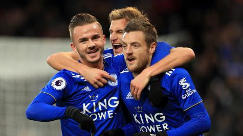 247334ada8 Stunning James Maddison strike caps Leicester s victory over Watford ...