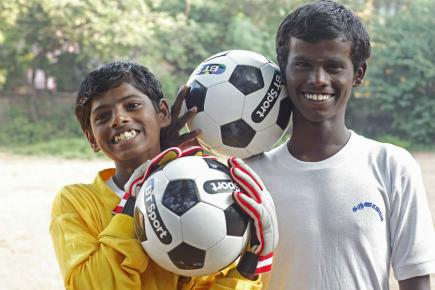 Supports children in the slums of Chennai in India