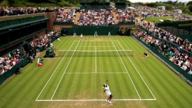 Image result for wimbledon no advertisement