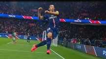 Watch Zlatan Ibrahimovic score a hat-trick in PSG romp