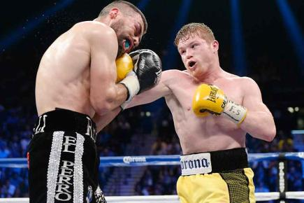 You can see the Saul Alvarez - Alfredo Angulo fight this evening as part of Boxing Tonight, BT Sport 1, 8pm.