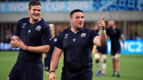 Zander Fagerson: Scotland are fully focused on Russia clash